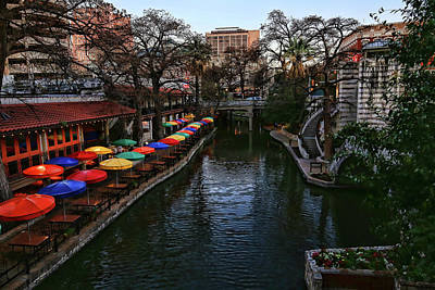 Photograph - San Antonio River Walk 3 by Judy Vincent