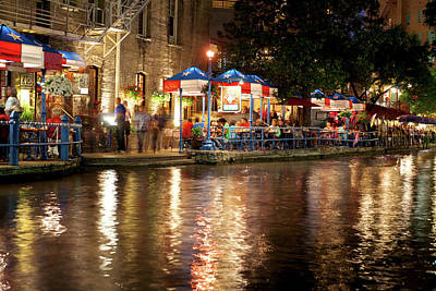 Photograph - San Antonio River Walk 72516 by Rospotte Photography
