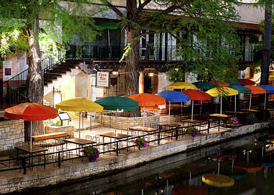 Photograph - San Antonio River Walk V2 072716 by Rospotte Photography