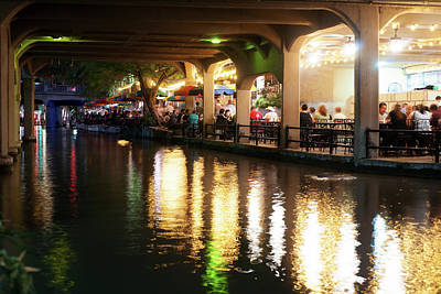 Photograph - San Antonio River Walk V2 72516 by Rospotte Photography