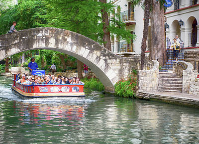 Photograph - San Antonio River Walk V2 by Rospotte Photography