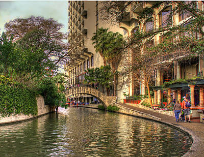 Photograph - San Antonio Riverwalk by Brian Kinney