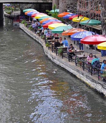 Photograph - San Antonio Riverwalk by Kristina Deane