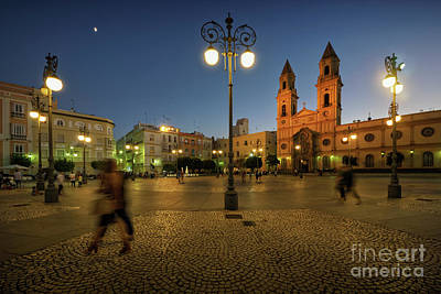 Photograph - San Antonio Square Cadiz Spain by Pablo Avanzini