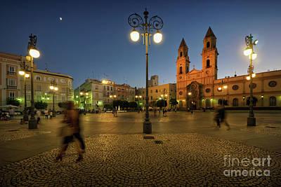 Photograph - San Antonio Square Cadiz Spain by Pablo Avanzini