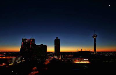 Photograph - San Antonio Sunrise by Judy Vincent