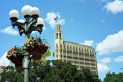 Photograph - San Antonio Texas Cityscape by Gregory Ballos