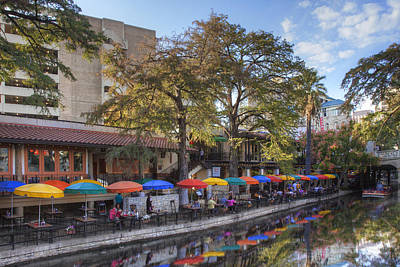Riverwalk Photograph - San Antonio Texas Riverwalk 1 by Rob Greebon