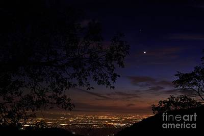 Photograph - San Bernardino Twilight Hour by Angela J Wright