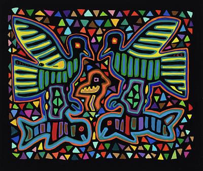 Painting - San Blas IIi by Pat Saunders-White