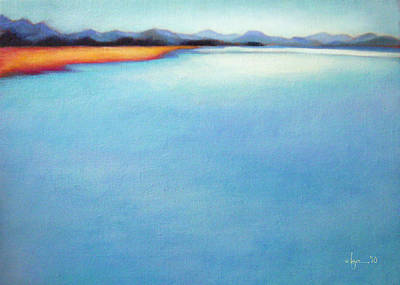Painting - San Blas Shallows by Angela Treat Lyon