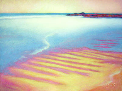 Painting - San Blas Sunrise Ripples by Angela Treat Lyon
