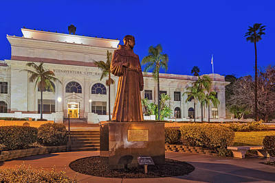 Photograph - San Buenaventura City Hall by Susan Candelario