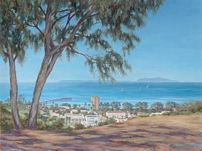 Anacapa Painting - San Buenaventura by Tina Obrien