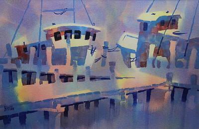 San Carlos Marina Art Print