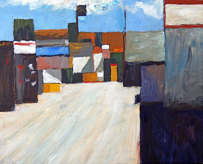 San Clemente Painting - San Clemente Alley by Michael Ward