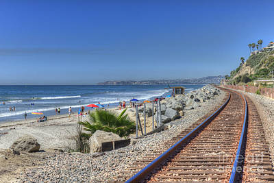 Photograph - San Clemente Beach  by David Zanzinger