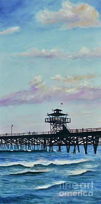 Painting - San Clemente Evening by Mary Scott