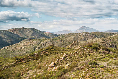 Photograph - San Diego Back Country Views by Alexander Kunz