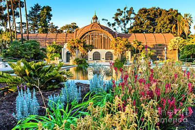 Photograph - San Diego Botanical Building by Ben Graham