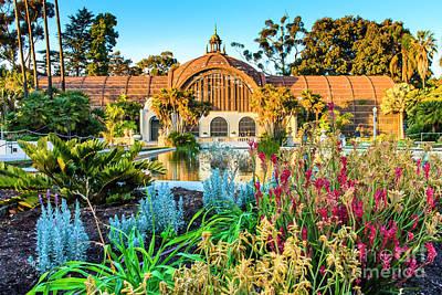 Photograph - San Diego Botanical Building by Ben Graham