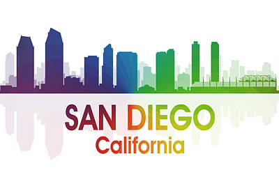 San Diego Ca Art Print