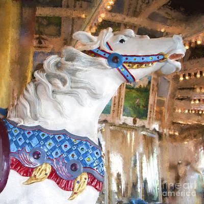 Photograph - San Diego Carousel by Elena Nosyreva