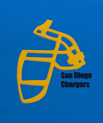 San Diego Chargers Retro Art Print by Joe Hamilton