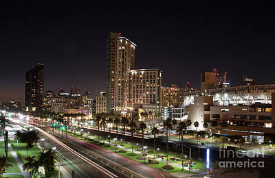 Photograph - San Diego Cityscape by Ruth Jolly