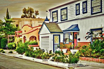 Photograph - San Diego - City Living by Gabriele Pomykaj