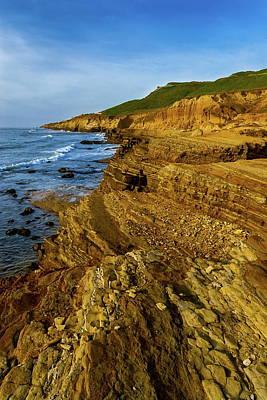 Photograph - San Diego Coastline by Chuck De La Rosa