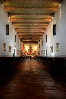 Mission California Photograph - San Diego De Alcala by Christine Till