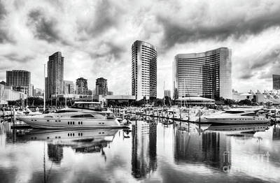 Photograph - San Diego Dreams Bw by Mel Steinhauer