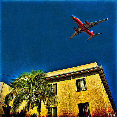 Photograph - San Diego Flight Path  by Chris Lord