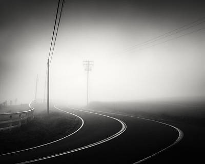 Photograph - San Diego Foggy Road by William Dunigan