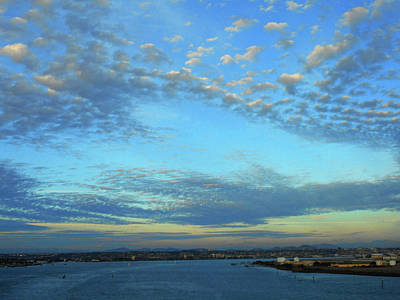 Photograph - San Diego Harbor 8 by Ron Kandt