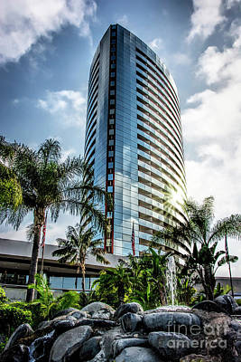 Photograph - San Diego Marriott Marquis by Ken Johnson