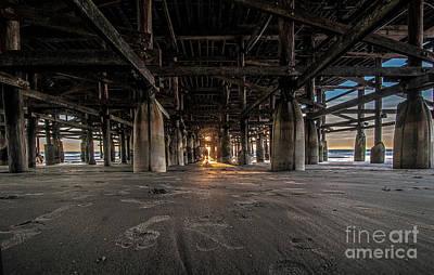 Photograph - San Diego Pascific Beach Pier by Roman Gomez