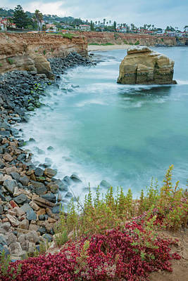 Photograph - San Diego Rocky Cliffs by Anthony Doudt