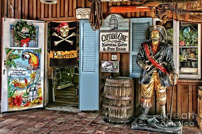 Photograph - San Diego - Seaport Village Gift Shop by Gabriele Pomykaj
