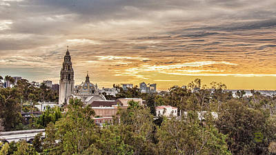 Photograph - San Diego Sky Fari Sunset View by Daniel Hebard