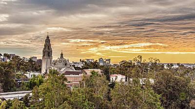 Photograph - San Diego Sky Fari Sunset View by Daniel Hebard