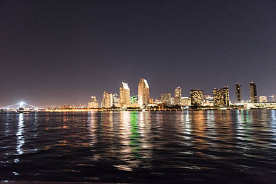 Photograph - San Diego Skyline by John Johnson