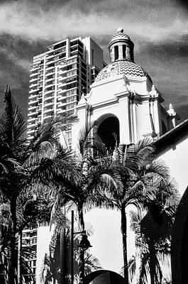 Photograph - San Diego Skyline by Samuel M Purvis III