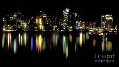 Photograph - San Diego Skyline by Sandra Bronstein
