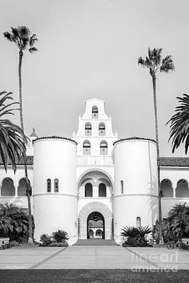 Photograph - San Diego State University Hepner Hall Vertical by University Icons