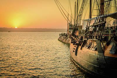 Photograph - San Diego Sunset by Debbie Ann Powell