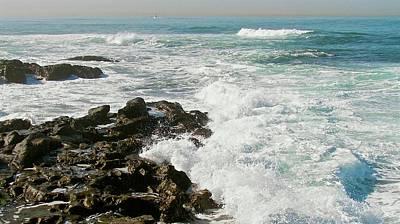 Photograph - San Diego Surf by Carol Bradley