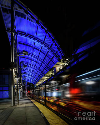 Photograph - San Diego Trolley by Ken Johnson