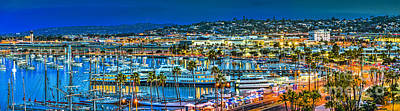 Photograph - San Diego Waterfront Cityscape by David Zanzinger